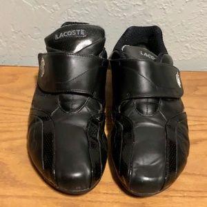 1bcf5326d Lacoste Shoes - Men s Lacoste Black Leather Protect Mic SPM Size 9